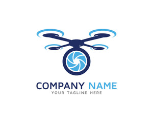 Aerial Drone Camera Photography Logo