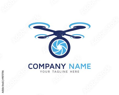 Aerial Drone Camera Photography Logo