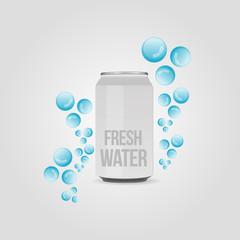Fresh natural water