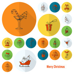 Christmas and Winter Icons Collection