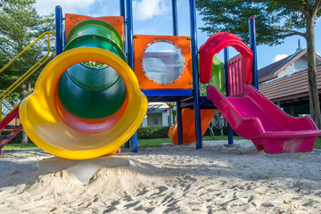 Colorful playground at Park