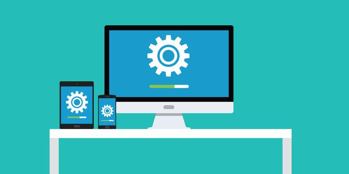 update updating software app smartphone pc dekstop notebook laptop tablet