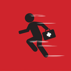 Emergency Concept Vector Illustration.