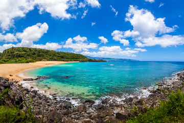 Fototapete - Beautiful Waimea Bay in Hawaii