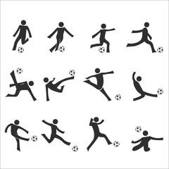 soccer dribbling drills set