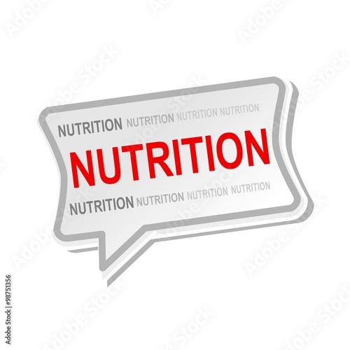 speech about nutrition