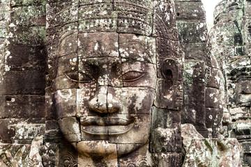 Bayon Temple (Angkor Thom) Siem Reap Cambodia  Dec 2015