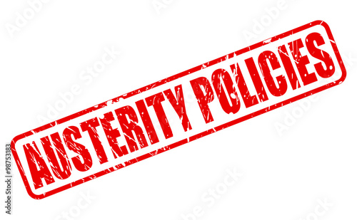 austerity policies The psychological impact of austerity  increased 22-fold since the beginning of austerity policies in 2010, according to the trussell trust, which.