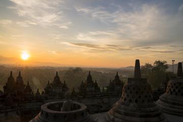 Keuken foto achterwand Indonesië ボルブドゥール寺院サンライズツアー
