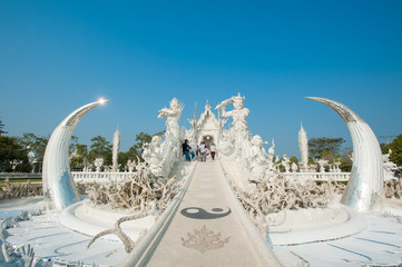 Wat Rong Khun (White Temple),Chiang Rai -Thailand
