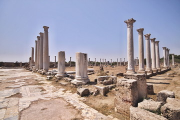 ruins of Salamis, Northern Cyprus