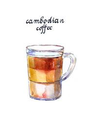 Vietnamese Cambodian coffee
