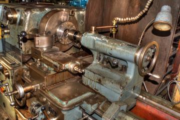 Drehbank Werkzeugmaschine