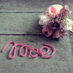 Love background, valentine day, mother day, diy