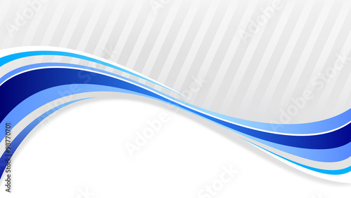abstract background wavy blue lines on a gray stock image and