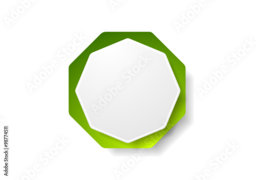 abstract geometric octagon shape - photo #6