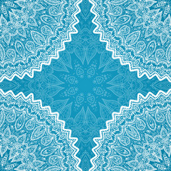 White ornate lacy napkin background
