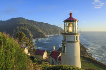 Heceta Head Lighthouse , Oregon Wall mural