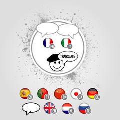 Translate icons