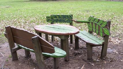 Sitzgruppe - Via naturae Heidelberg