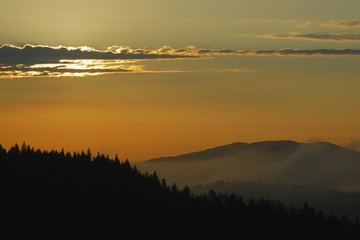 Przed zachodem słońca