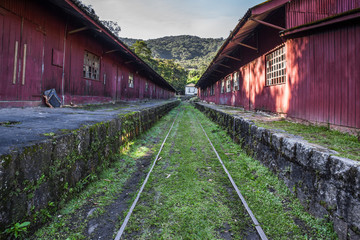 Train maintenance workshop in Paranapiacaba - SP - Brazil