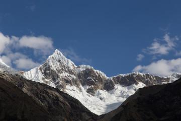 Mount Artesonraju in Peru
