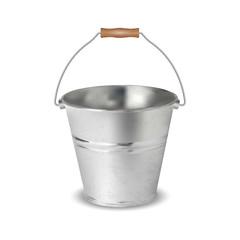 Vector illustration of bucket