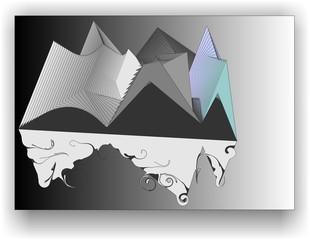 треугольники и спирали