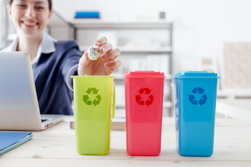 Waste separate collection