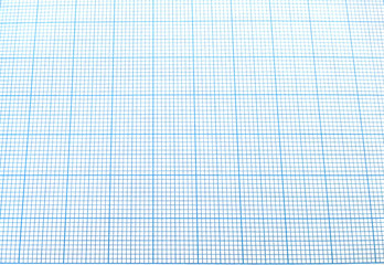 Blue graph paper background texture