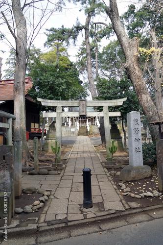 """堀ノ内熊野神社""""Fotolia.com の ..."""