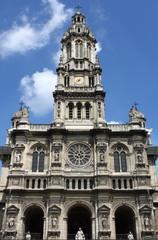 Saint Trinity Church in Paris, France