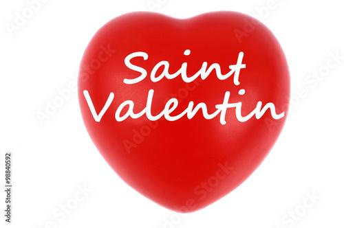 C ur de la saint valentin photo libre de droits sur la banque d 39 images image - Coeur de st valentin a imprimer ...