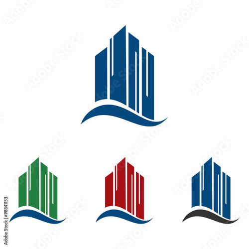 quothigh building apartment hotel logo iconquot obraz243w