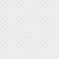 Gray and white seamless pattern with diamonds
