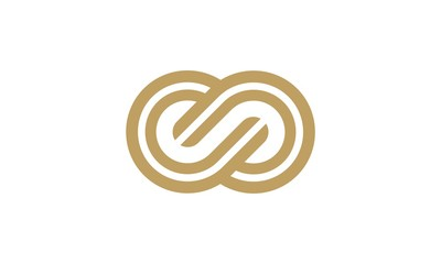 infinity line vector logo