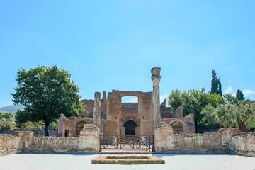 Hadrian's Villa, the Roman Emperor's 'Villa,Tivoli, outside of Rome, Italy, Europe