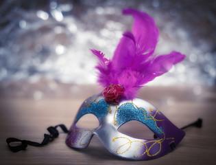 Fotobehang Carnaval female carnival mask