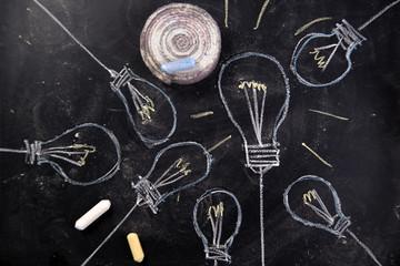 Drawing some bulbs