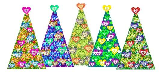 Liebe-Herzen-Baum, Variante III