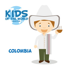 Kids and Nationalities of the World: Colombia