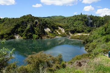 Frying Pan Lake Neuseeland