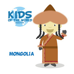 Kids and Nationalities of the World: Mongolia