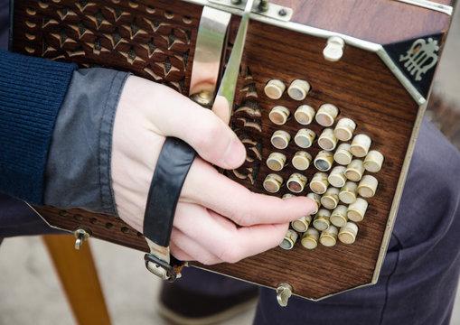detalle de acordeon