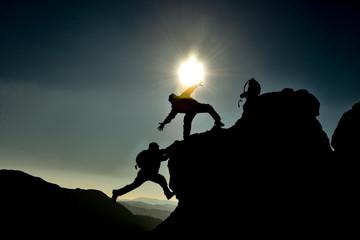 profesyonel ruhlu amatör dağcılar