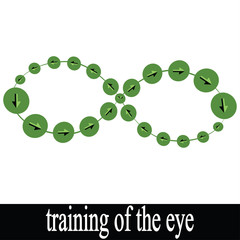 the work of gymnastics, exercises for the eyes