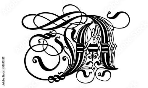 Lettre a gothique orne en vectoriel fichier vectoriel libre de lettre a gothique orne en vectoriel thecheapjerseys Image collections
