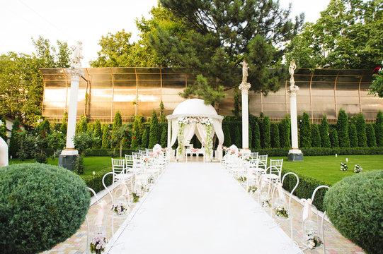 Arbor for Wedding Ceremony