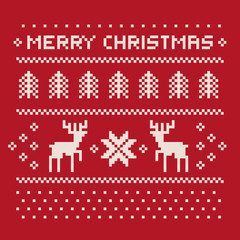 christmas winter pattern print for jersey